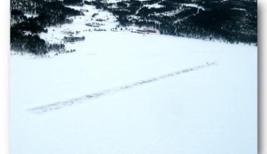 Isbanen i Elgå