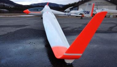 Øyvinds nye fly, ASH-31Mi LN-GOM