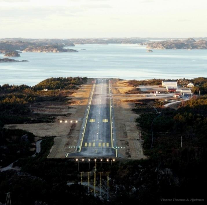 Stord Lufthavn: Foto: Thomas André Hjelmen, Flynytt