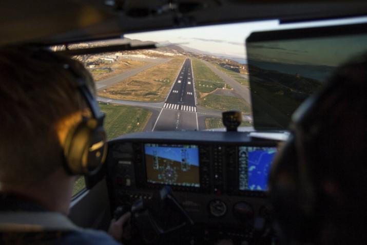 Bli pilot gjennom Bodø Flyklubb