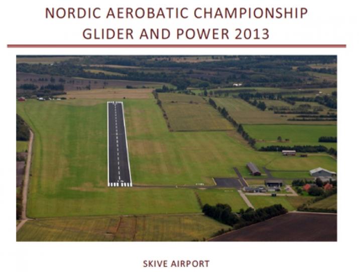 Nordic Aerobatic Championship 2013